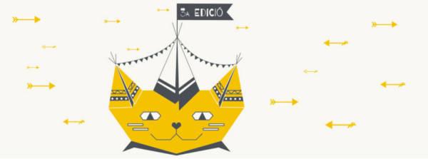 We love cats (ilustración de Desenfoque Gaussiano)