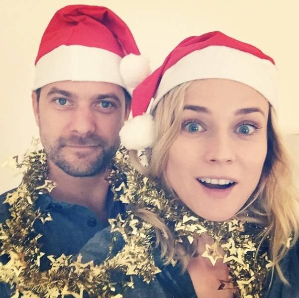Navidad-Diane-Kruger-y-Joshua- Jackson-Vanidad