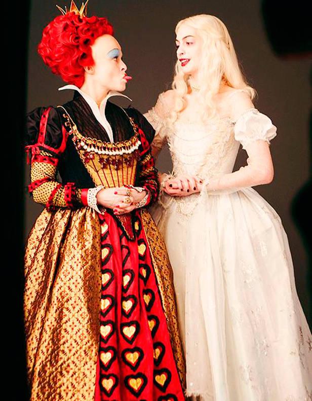 La Reina Roja y la Reina Blanca
