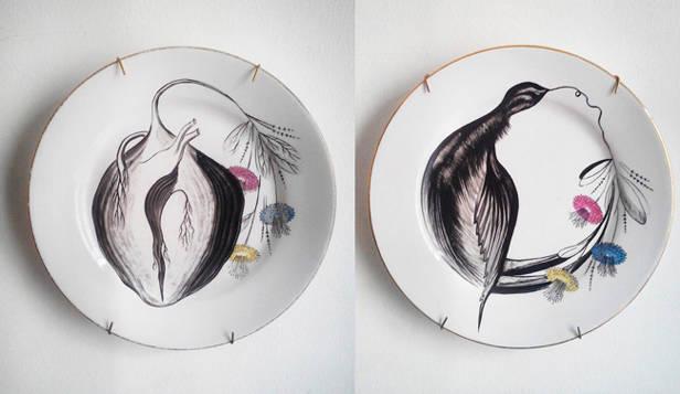 platos-pared-Carlos-Villoslada-vanidad