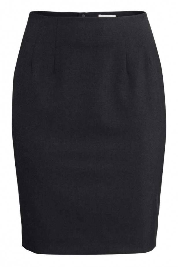 Falda tubo de H&M