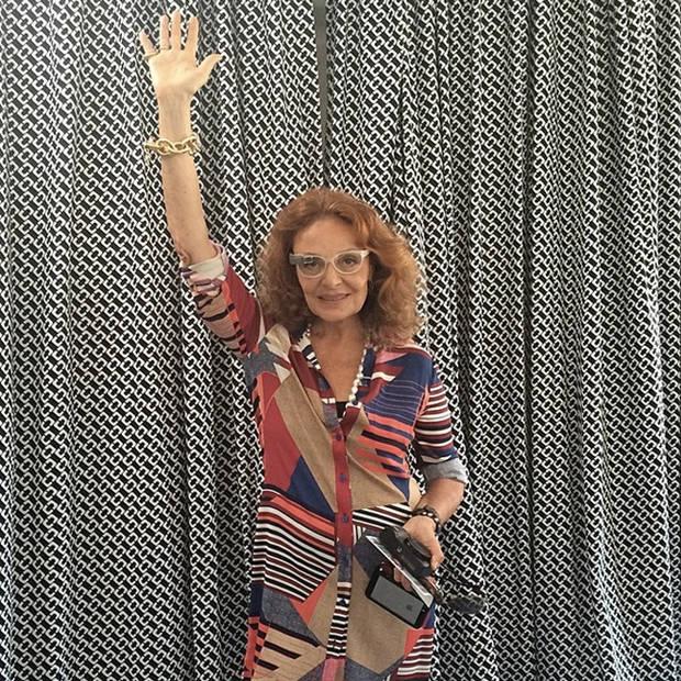 Diane Von Furstenberg con