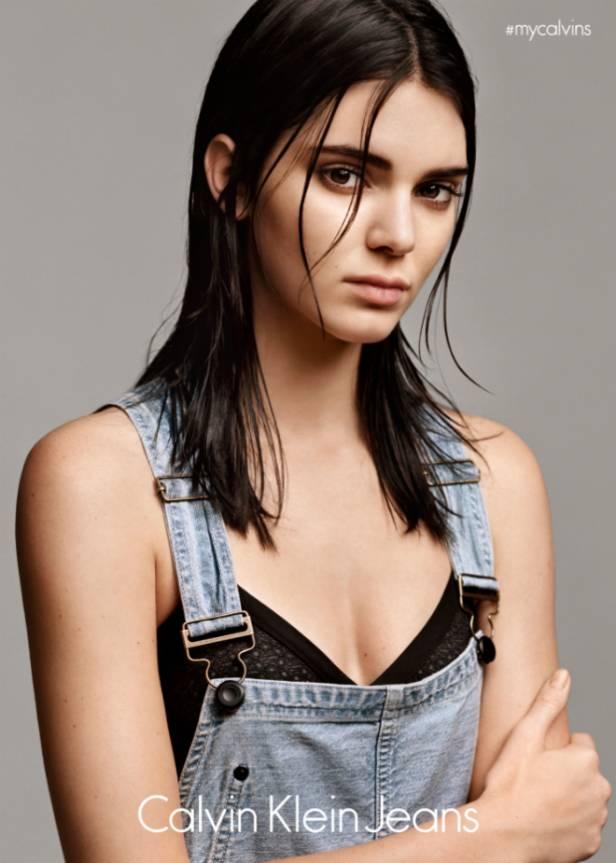 Kendall Jenner en #mycalvins  Imagen: Calvin Klein Jeans