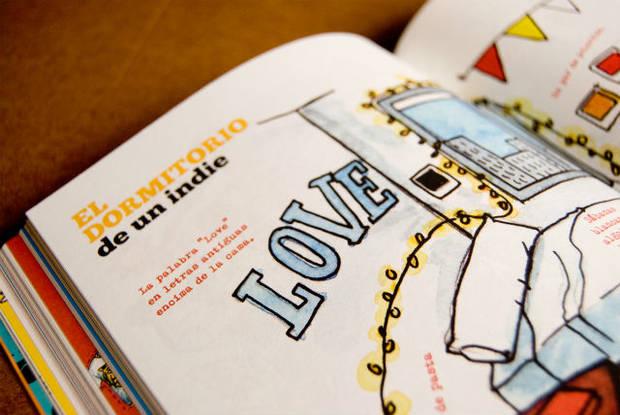 Vida Indie: Manual de Estilo. De Mario Suárez. Con ilustraciones de Ricardo Cavolo. Ed. Lunwerg