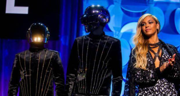 Daft Punk junto a Beyoncé