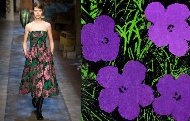 Erdem, Flowers de Andy Warhol