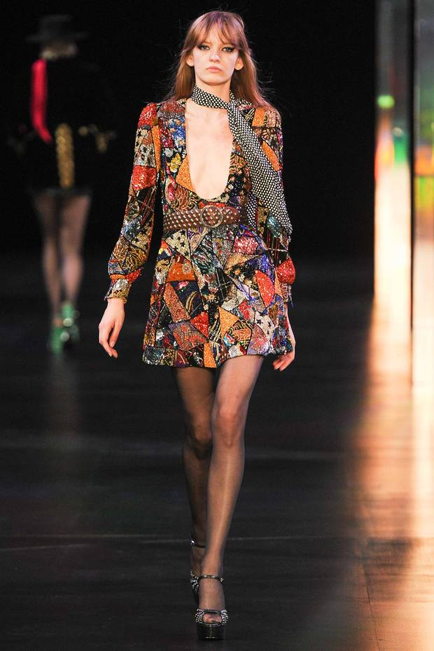 Saint Laurent primavera/verano 2015