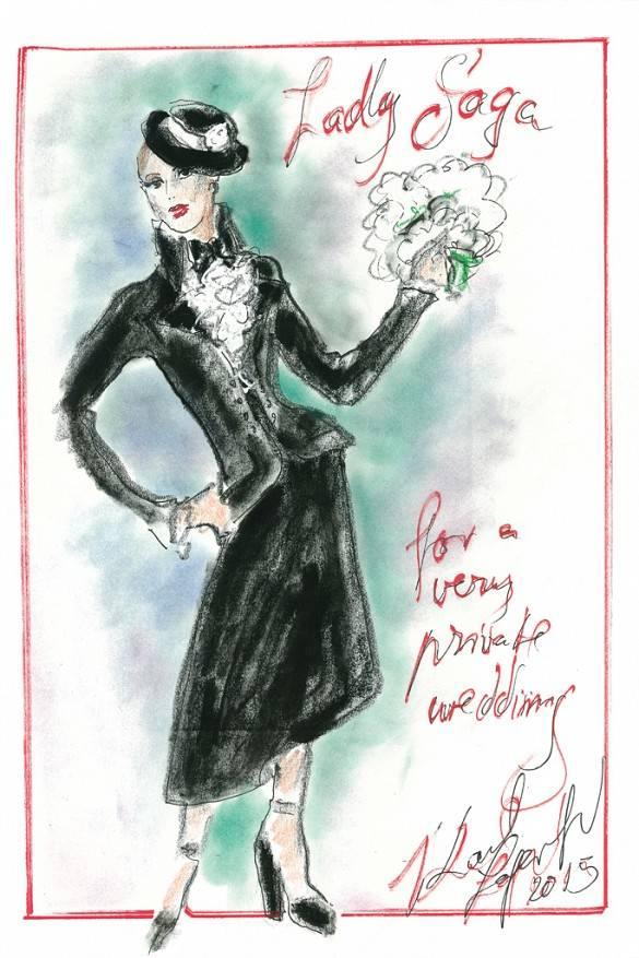 Karl Lagerfeld para Chanel