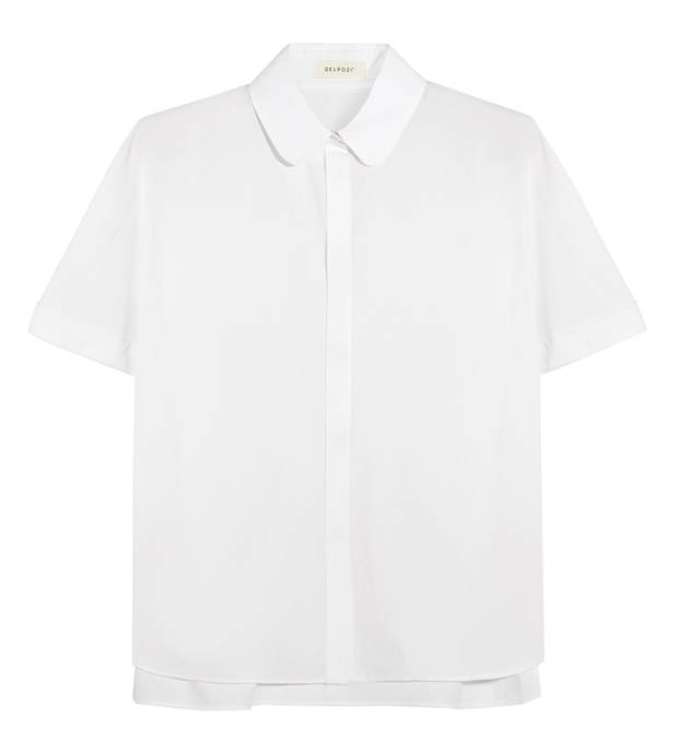 Delpozo cotton poplin blouse NET-A-PORTER