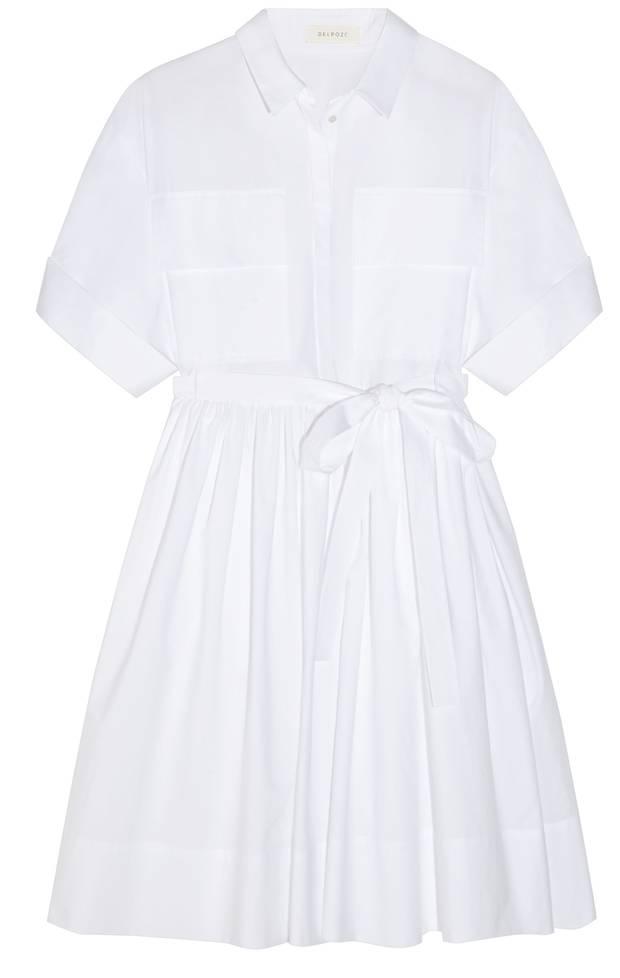 Delpozo cotton shirt dress NET-A-PORTER