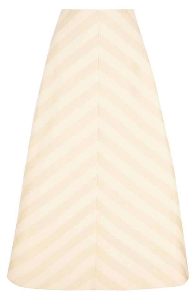 Delpozo Ottoman A-line skirt NET-A-PORTER