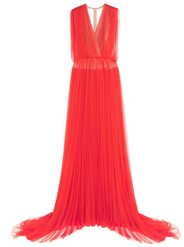 Delpozo silk tulle gown NET-A-PORTER