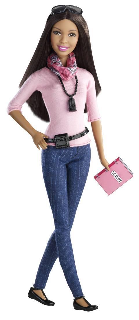 Así es la versión afroamericana de Barbie.  Imagen: Mattel