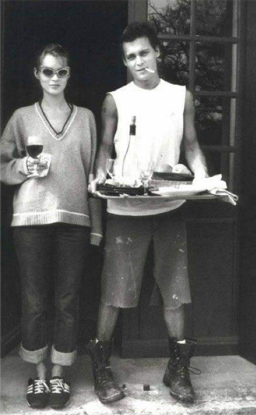 Johnny y Kate, probablemente, la pareja más cool de todos los tiempos.