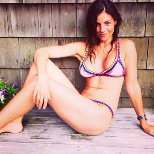 Julia Restoin-Roitfeld posa encantada consu Kiini