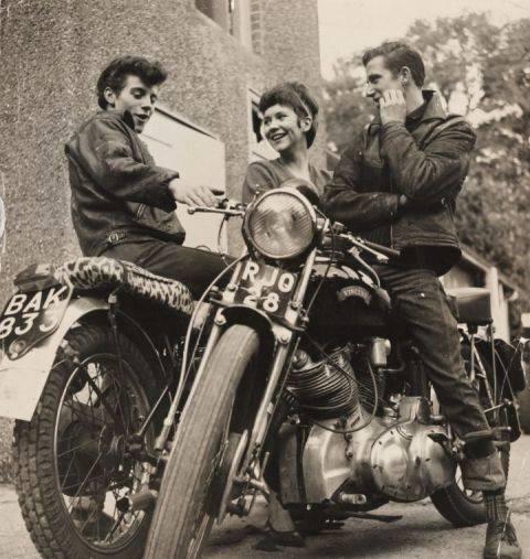 Los rockers y sus inseparables motos