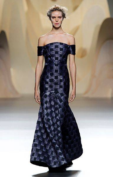 El vestido largo es obligado si se trata de un dress code cargado de seriedad