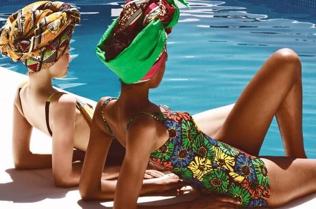 Bañadores Magpige y bandanas Mama África