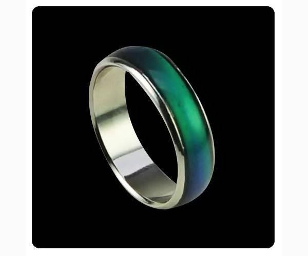 El anillo que cambiaba de color