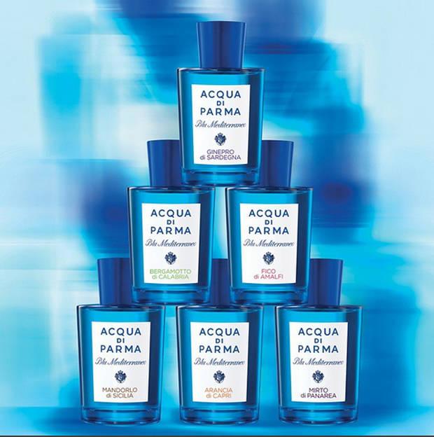 Imagen: @acquadiparma_official Acqua di Parma Blu Mediterraneo