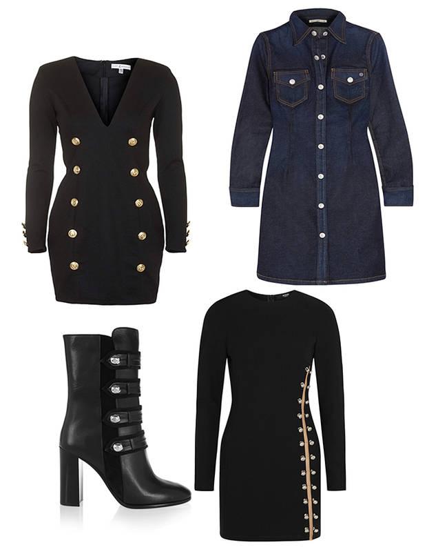 Balmain, A.G. Jeans, Isabel Marant y Versus