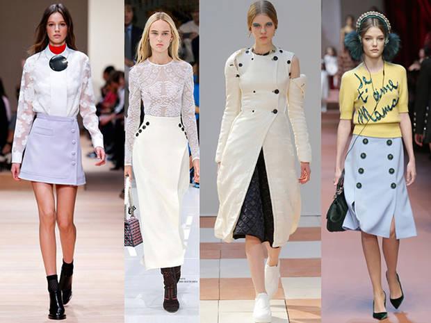 Carven, Dior, Céline y Dolce & Gabbana