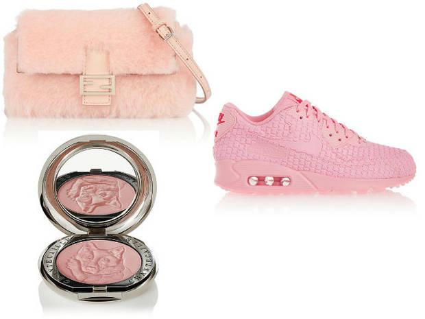 complementos tendencia rosa