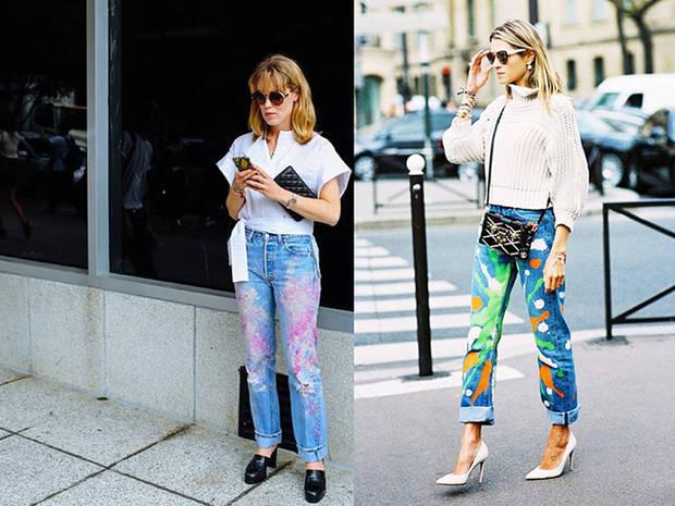 jeans brochazos