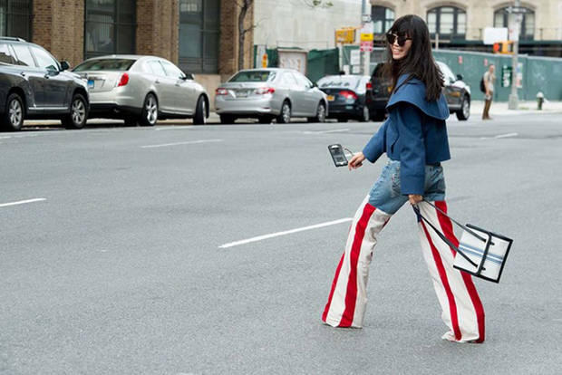jeans cosidos
