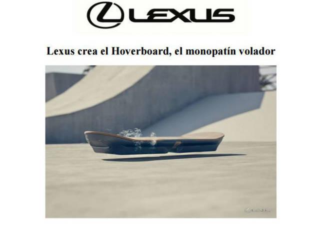 lexus hoveboard