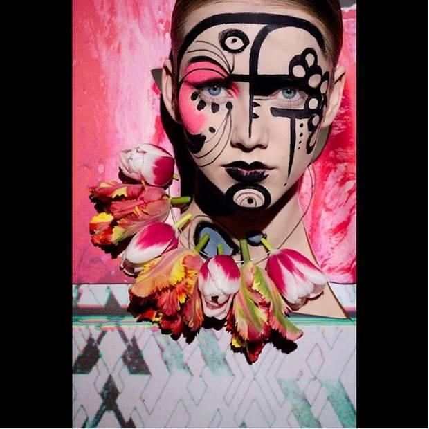 Maquillaje creado por Ellis Faas