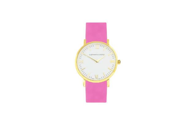Golden Arctic Neon Pink