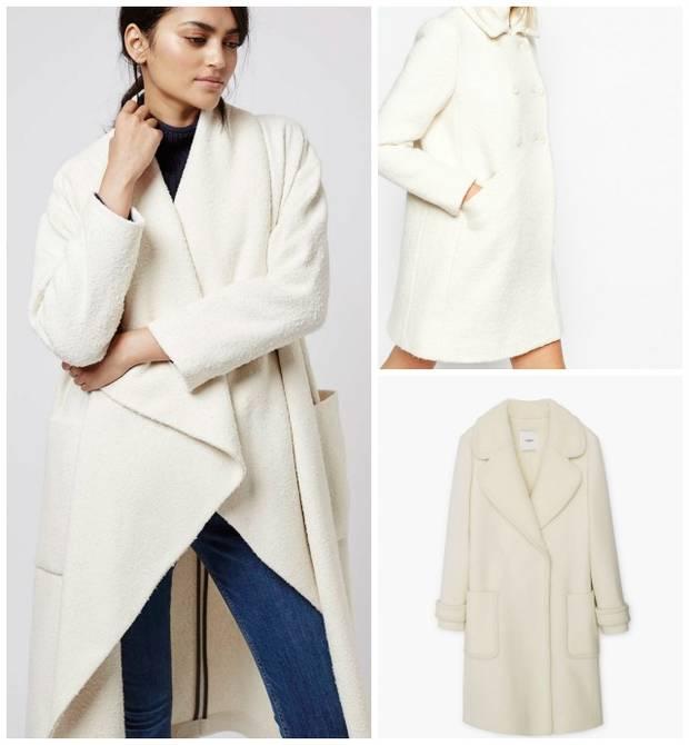 pantone blanco vanidad abrigos