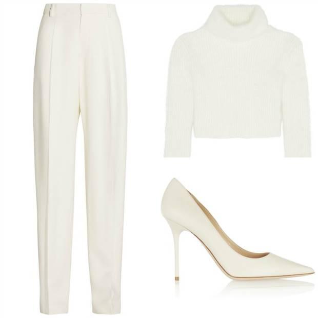 pantone blanco vanidad shopping look