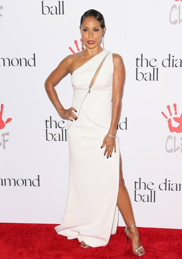 Jada-Pinkett-Smith-Rihanna-Diamond-Ball-2015-White-Dress