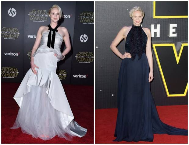 star wars premiere red carpet vanidadGwendoline Christie