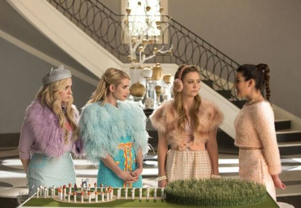 scream queens vanidad Chanel Oberlin y sus secuaces