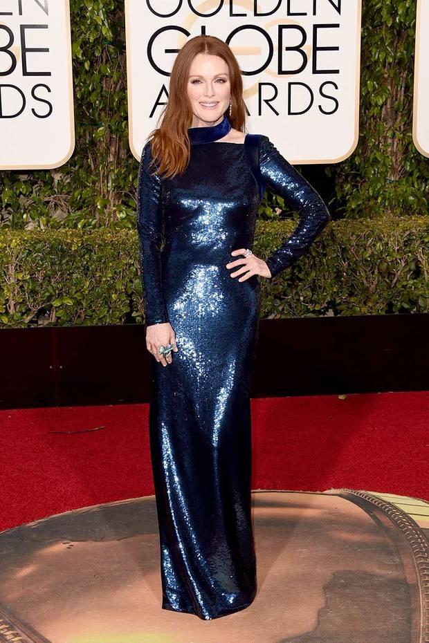 ganadoras estilo Globos de Oro Julianne Moore