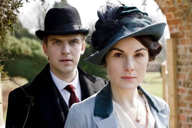 vestuario series y películas vanidad Downton Abbey
