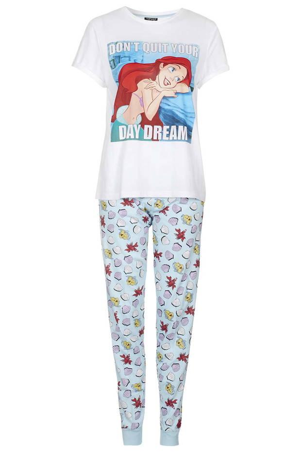 moda aniñada vanidad topshop pijama