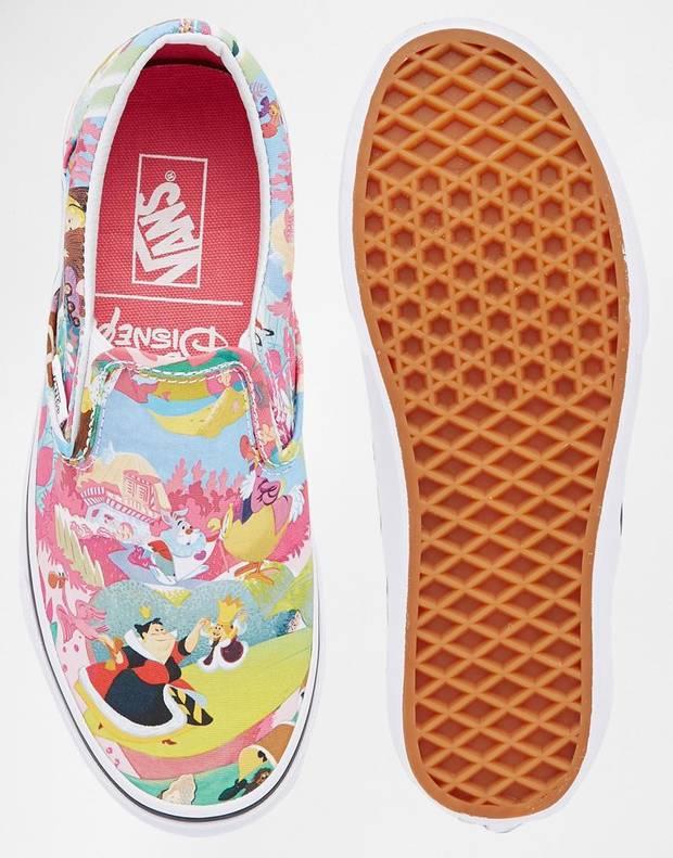 moda aniñada vanidad vans zapatillas