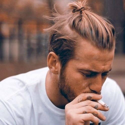 peinados hombre vanidad moño