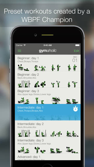 apps deporte vanidad gymaholic