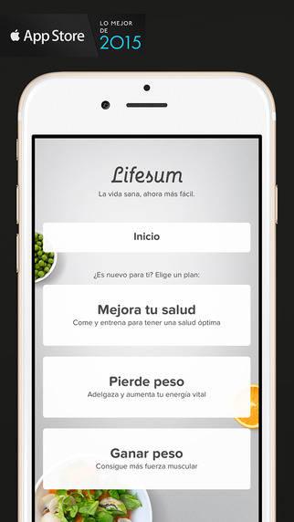 apps deporte vanidad lifesum