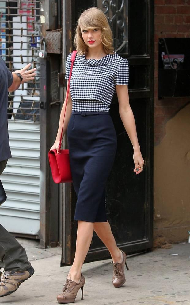 cintura alta vanidad taylor Swift