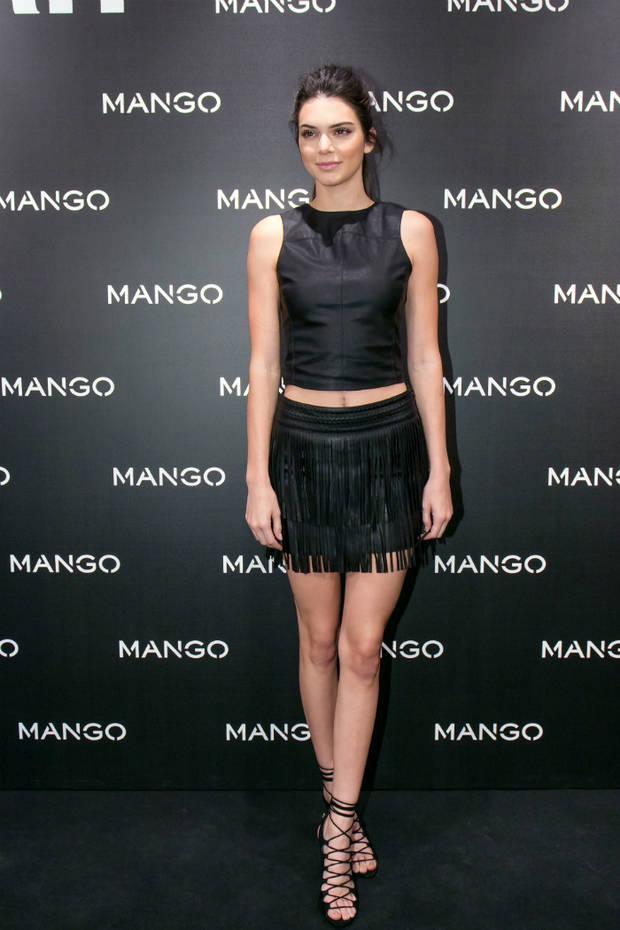 de fiesta con Kendall Jenner