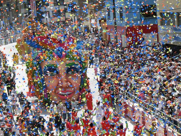 escapada carnaval vanidad colonia