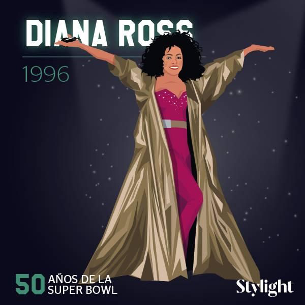 Super-Bowl vanidad Diana Ross