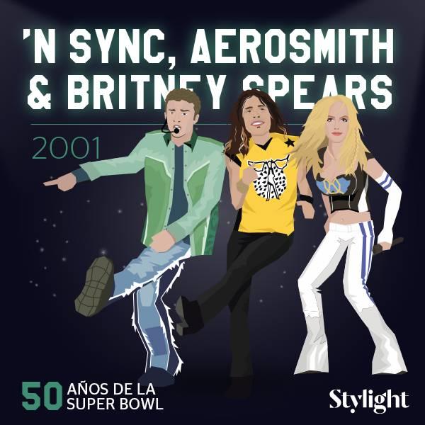 Super-Bowl vanidad NSYNC-Aerosmith-Britney-Spears