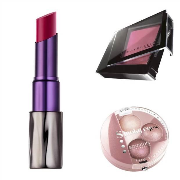 maquillaje san valentín vanidad collage rosa